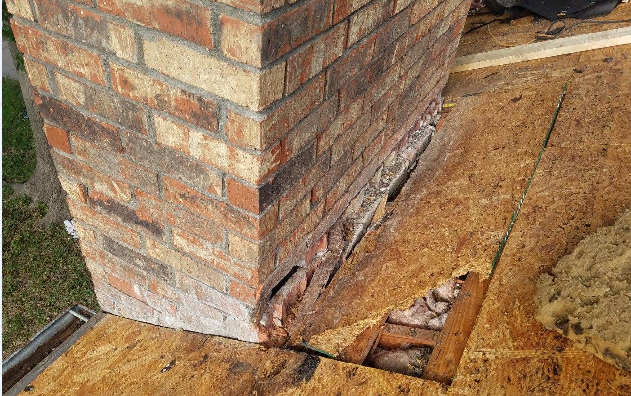 Flashing Repair Roof Repair Stamper Roofing
